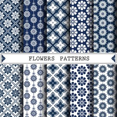 flower vector pattern,pattern fills, web page background,surface