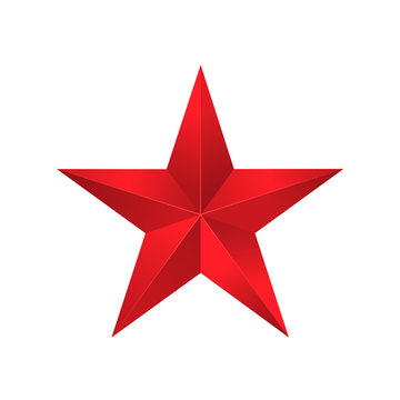 Red star sign