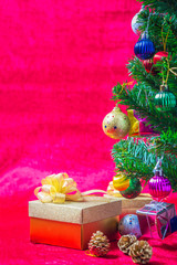 Gift and christmas ornaments