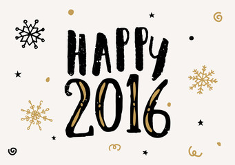 2016 Greeting Card Template