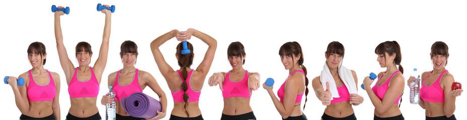 abnehmen fitness frau