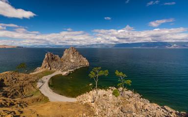 Озеро Байкал. Горы, острова и волны. Россия.The Lake Baikal. Mountains, Islands and waves. Russia.