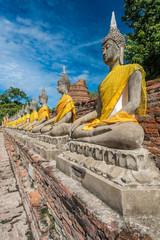 Buddha Statue in Ayutthaya Thailand