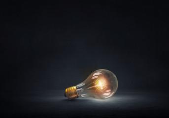 Bright electric bulb