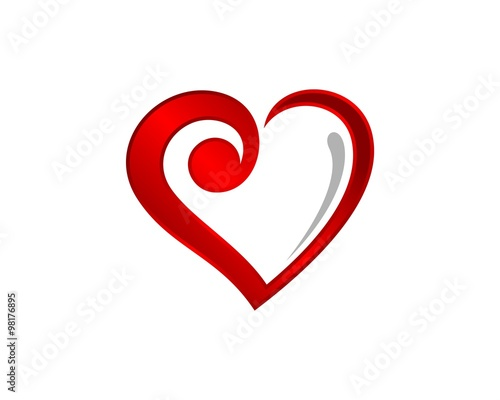 Red Heart Love Symbol 3 Stock Image And Royalty Free Vector Files
