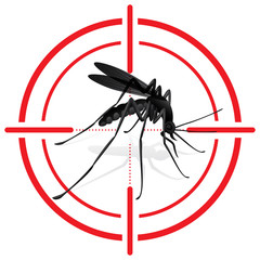 Signaling, mosquitoes with mosquito target. mira signal