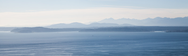 Waterview, looking across the Puget 
