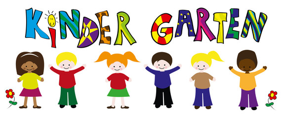 Kindergarten Kinder Vektor