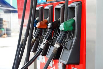 oil punp in gas station