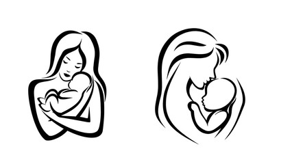 Коллаж, материнство