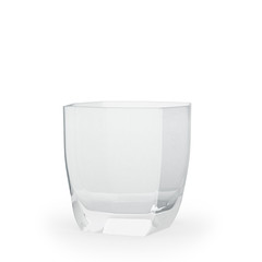 low tumbler isolated on a white background
