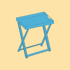 Serving table icon