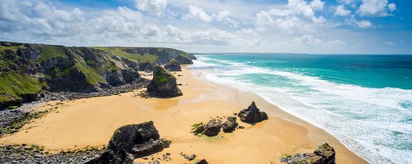 Pentire Steps Beach Cornwall