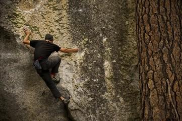 Bouldering in Yosemite Valley