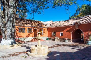 Beautiful Colonial Courtyard