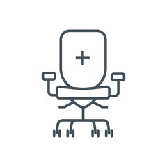 Chair person, office icon