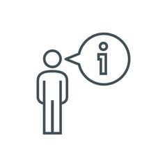 Info,helpdesk  icon
