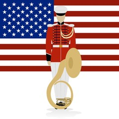 US Military Band Musician