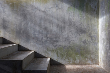cement concrete staircase