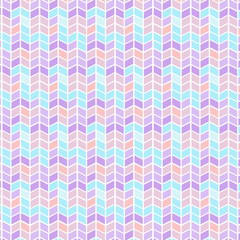 Vector Seamless geometric pattern with zigzags