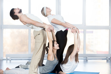 Exercise for spine with partner