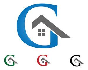 G letter home logo