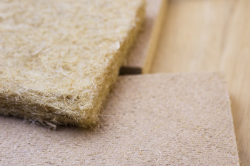 compressed thermal insulating hemp fiber panels - energy efficiency