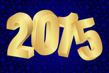 2015 new year background Vector EPS 10 illustration.
