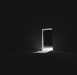Exit door Concept background
