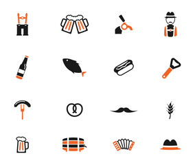 Oktoberfest simply icons