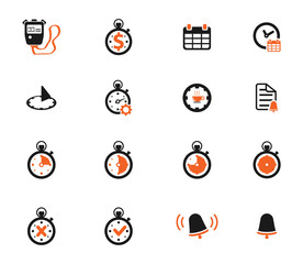 Time simply icons
