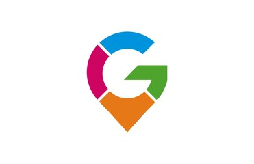 letter g colorful logo
