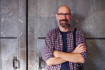 Portrait Of Male Designer In Modern Office