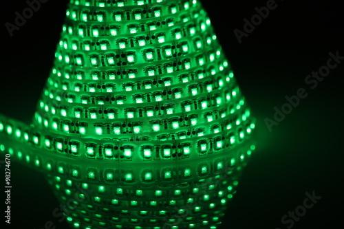Zielone Oświetlenie Stock Photo And Royalty Free Images On