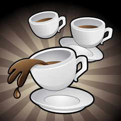 Coffee Cups Clip Art