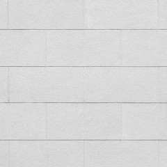 White cement or concrete wall texture and background seamless