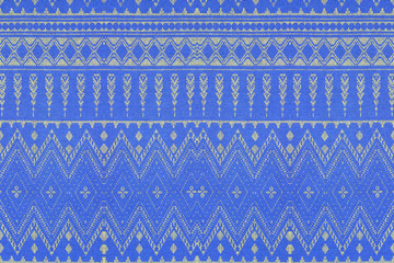vintage style of tapestry fabric pattern background
