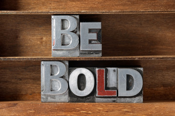 be bold tray