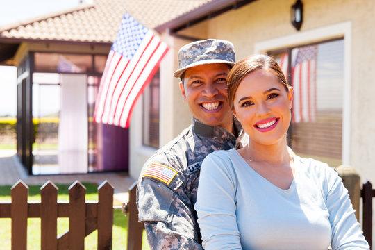 american military couple