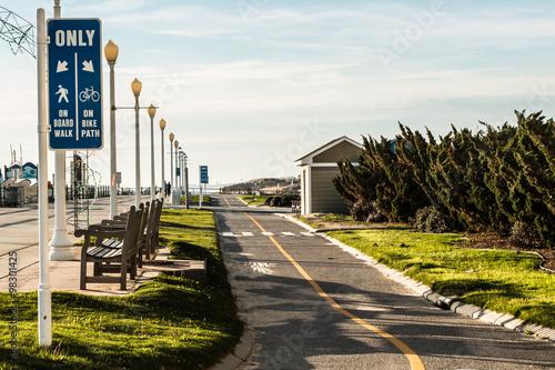 Virginia Beach Oceanfront Boardwalk Bike Path