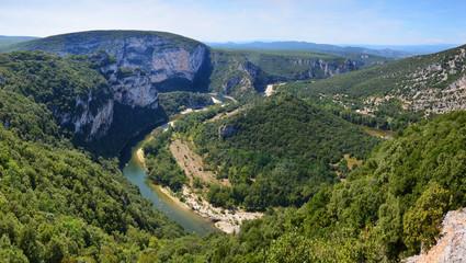Gorges de l'Ardèche Panorama