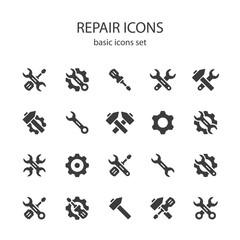 Repair icons.