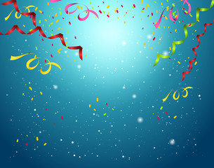 Celebration background vector illustration