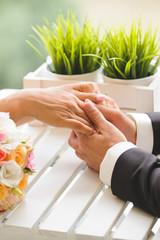 Man Holding Beloved's Hands