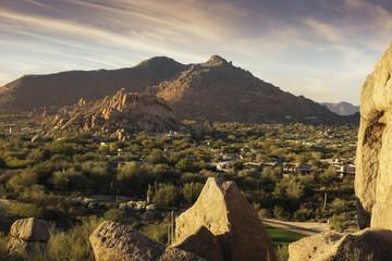 Serene desert landscape, Scottsdale,Phoenix,Az