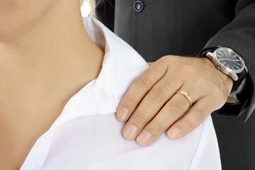 Belästigung durch Chef am Arbeitsplatz