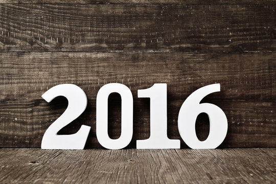 number 2016, as the new year