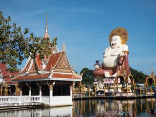 Wat Plai Laem Thailand sightseeing