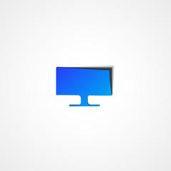 Monitor web icon