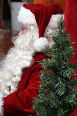 Santa is Seated